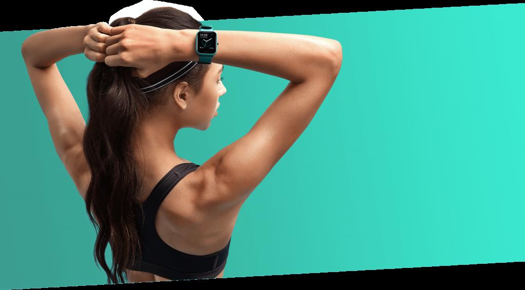 Amazfit Bip U Pro prezentuje výrobce jako sportovní