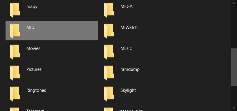 Zálohu najdete v interní paměti ve složce MIUI-backup-AllBackup