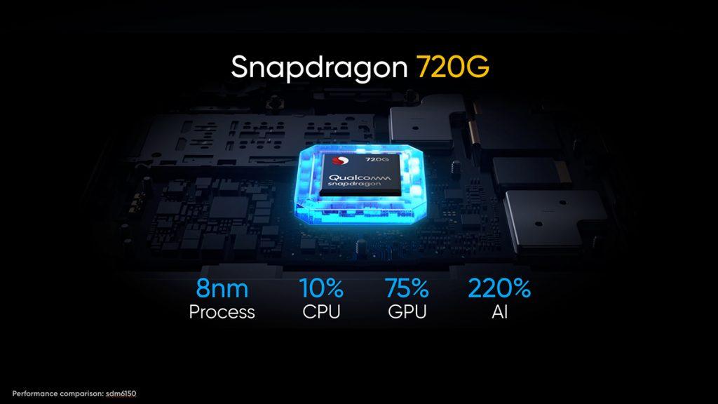 Oba telefony pohání Snapdragon 720G