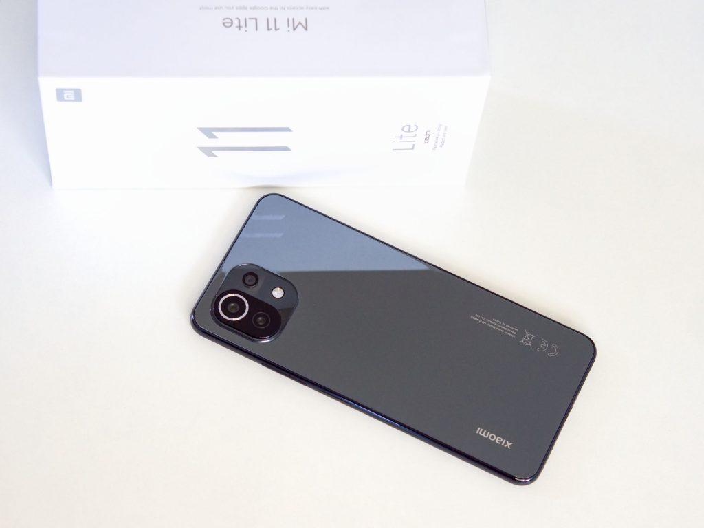 Xiaomi Mi 11 Lite záda