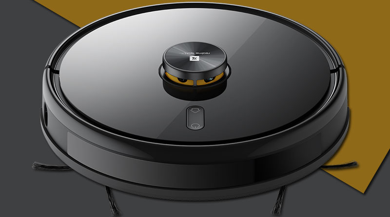 Realme představilo svůj první robotický vysavač TechLife Robot Vacuum