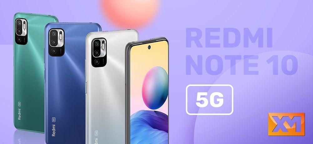Chytrý telefon Redmi Note 10 5G