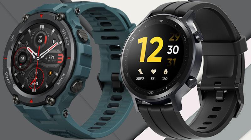 Rozdíly: Amazfit T-Rex Pro vs. Realme Watch S aneb Chytré hodinky