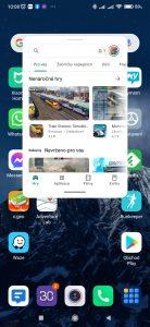 Aplikace Obchod Play v plovoucím okně