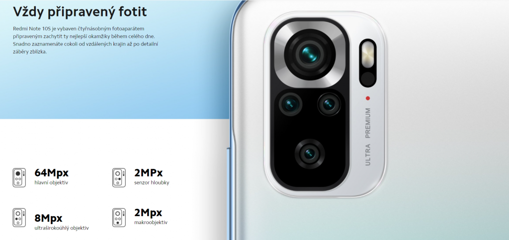 Foťáky Redmi Note 10S