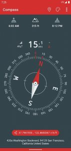 Just a Compass