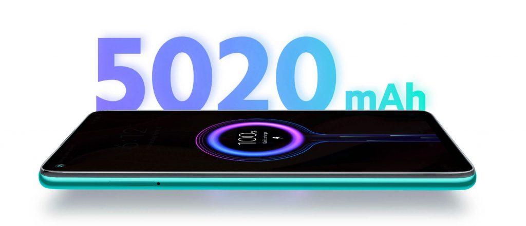 Note 9 s baterií s kapacitou 5020 mAh