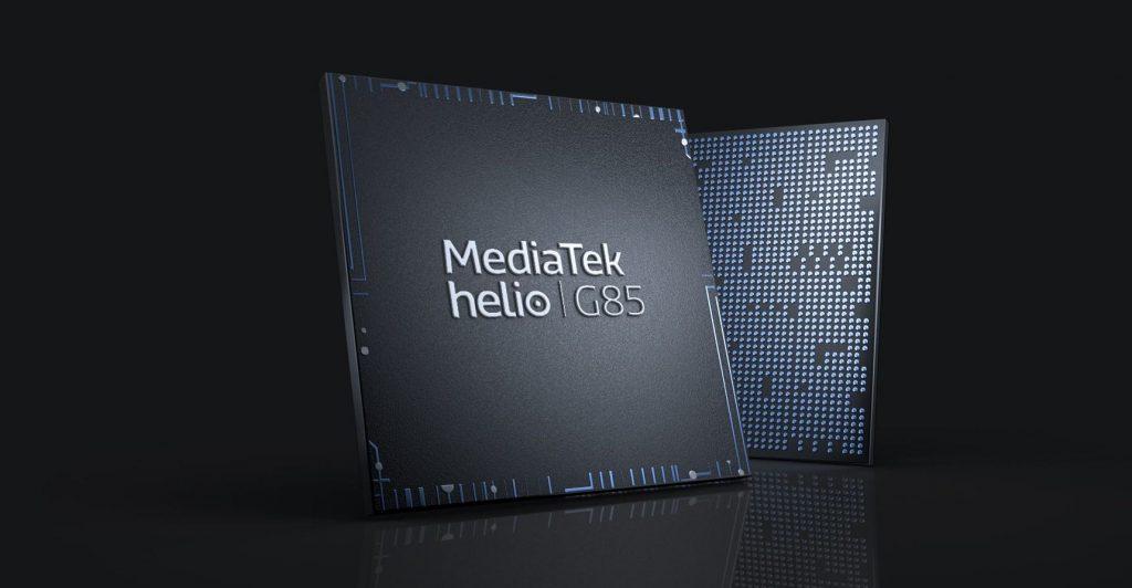 Oba telefony pohání procesor MediaTek Helio G85