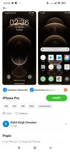 Téma iPhone Pro