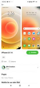 Téma iPhone Ui 14