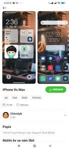 Téma iPhone Xs Max