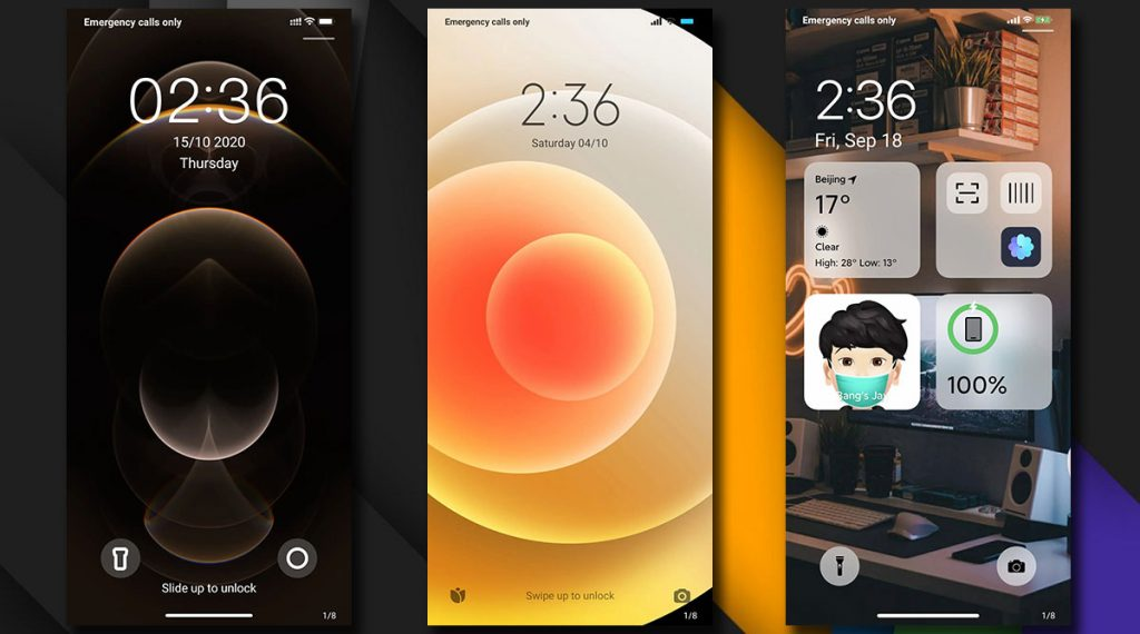 Témata: změňte si MIUI tak, aby vypadalo jako iOS z iPhonů