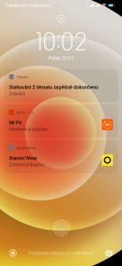 Zamykací obrazovka v duchu iOS