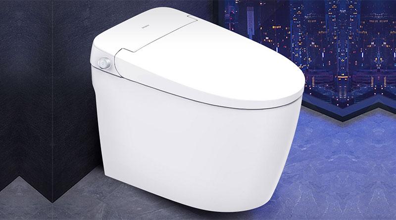 Chytrý záchod Xiaomi Haier Smart Toilet H1A s oplachem i ofukem
