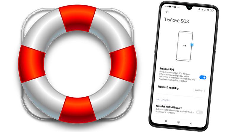 Nastavte si na mobilu Tísňové SOS! V nouzi vám může zachránit život
