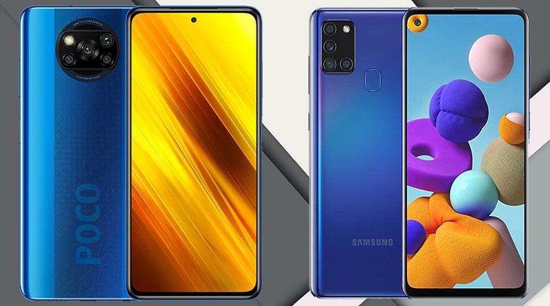 Rozdíly: Poco X3 NFC vs. Samsung Galaxy A21s aneb Čína proti Koreji