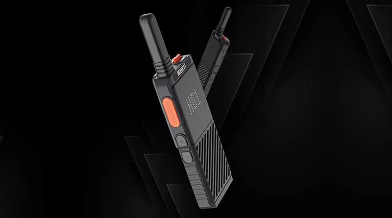 Xiaomi BEEBEST A308 Walkie Talkie: kompaktní vysílačka do kapsy