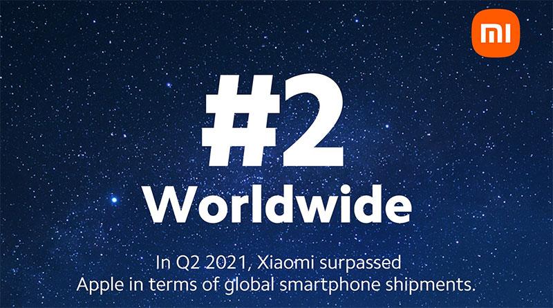 Xiaomi předběhlo Apple, v prodejích telefonů je světovou dvojkou!