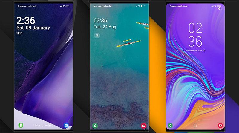3 nejlepší témata: proměňte MIUI tak, aby vypadalo jako Samsung One UI
