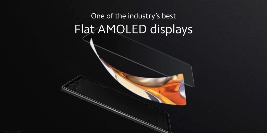 Kvalitní AMOLED obrazovka