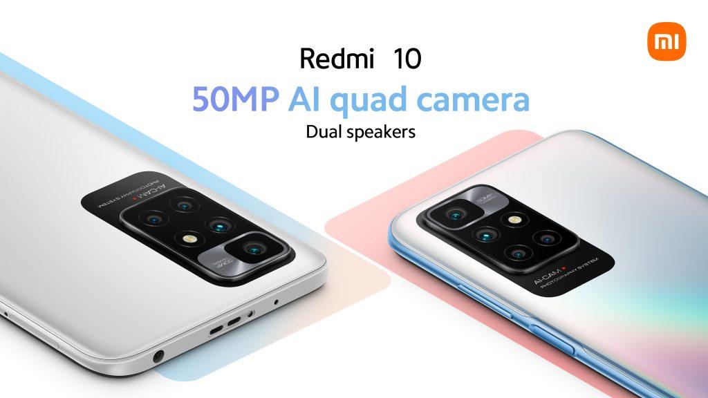 Jedním z hlavních taháků Redmi 10 je 50Mpx foťák