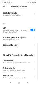 Redmi 10 má NFC