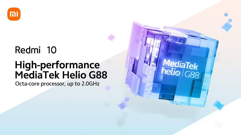 Telefon pohání procesor MediaTek Helio G88