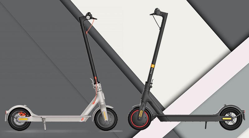 Rozdíly: koloběžky Mi Electric Scooter 3 vs. Mi Electric Scooter Pro 2