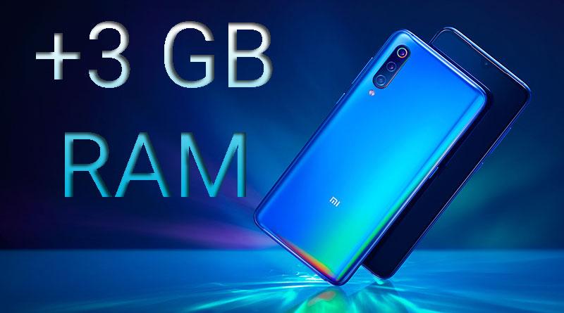 Telefon Xiaomi Mi 9 dostane možnost rozšíření paměti RAM o 3 GB