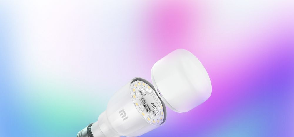 Chytrá žárovka Xiaomi Mi Smart LED Bulb Essential (White and Color)