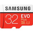 Paměťová karta Samsung EVO Plus microSDHC/SDXC s adaptérem