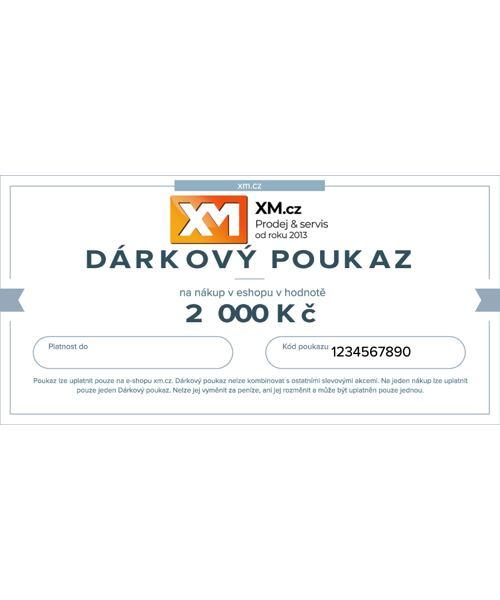 Dárkový poukaz 2000 Kč