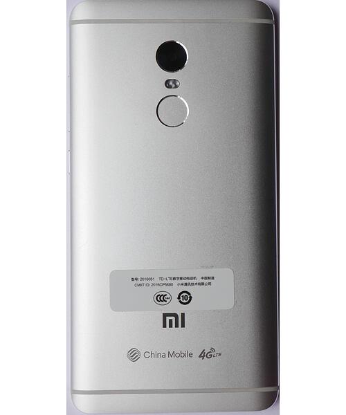 Xiaomi Redmi Note 4 zadní kryt